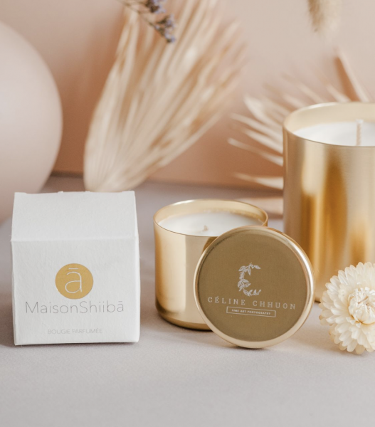 Maison Shiiba Scented Candle with Your Individual Secret Message