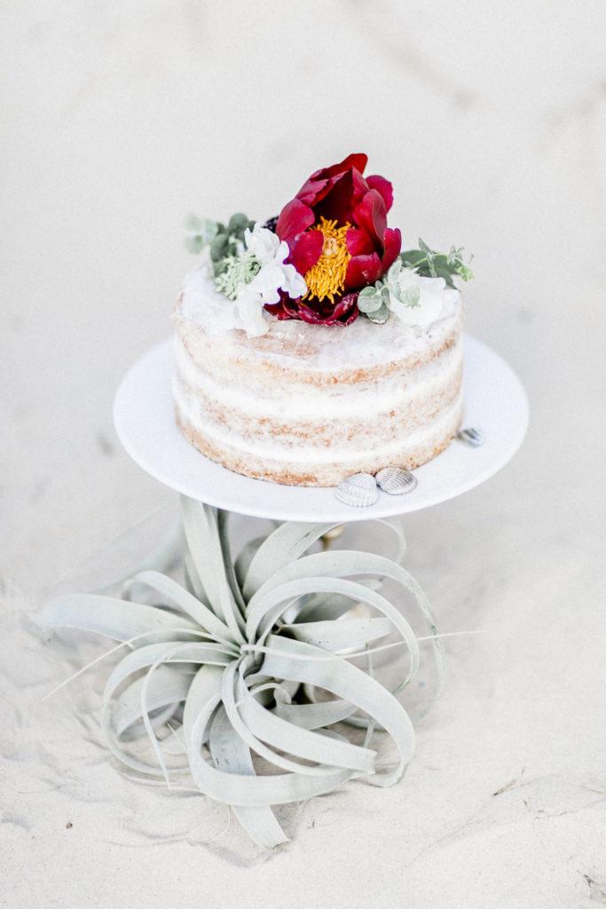 Fine art wedding cake