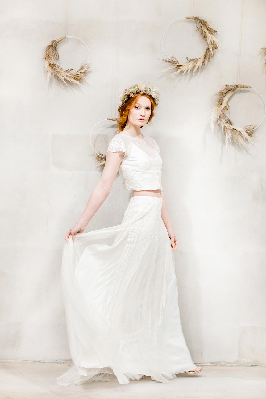 boho, wedding, dress, kleid, pampas, strauß