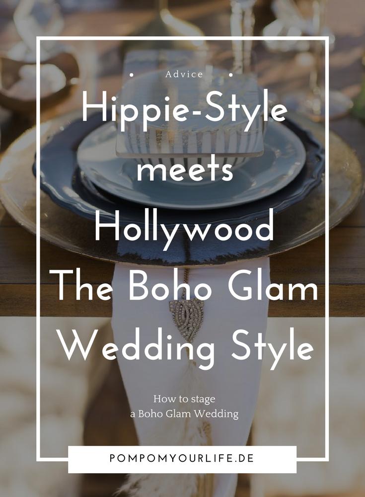 Boho Glam Wedding Style