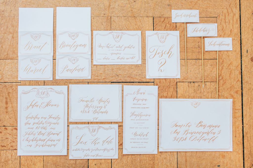 wedding calligraphy, wedding stationery, wedding invitations