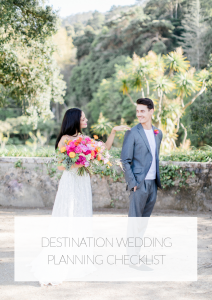 portugal destination wedding checklist