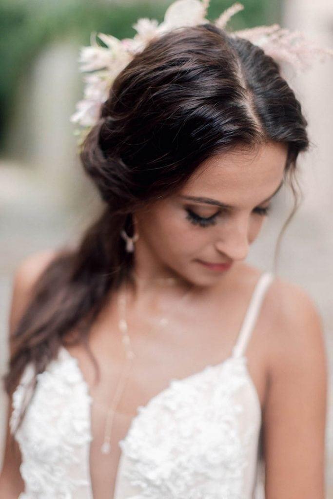 Villa Catureglio Tuscany Wedding Bride 3