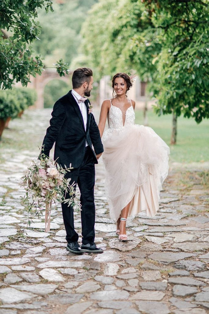 Villa Catureglio Tuscany Wedding Couple 2