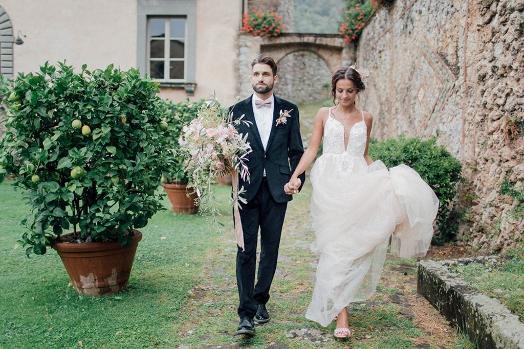 Villa Catureglio Tuscany Wedding Couple 3
