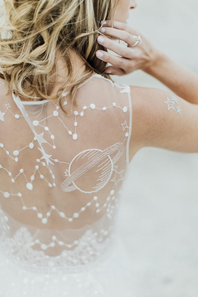 bridal styling details