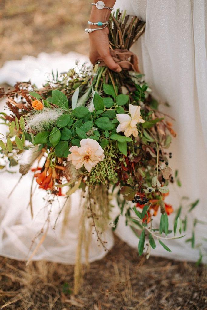 toskana wedding flower bouqet