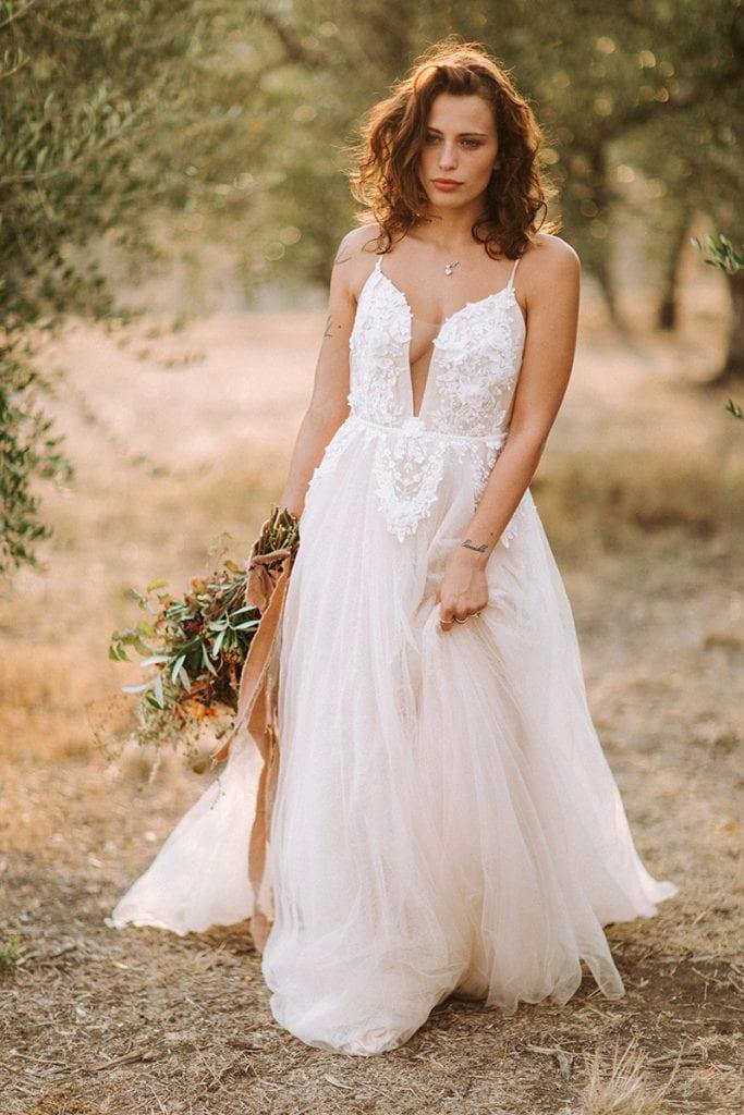 Toskana bride wedding dress