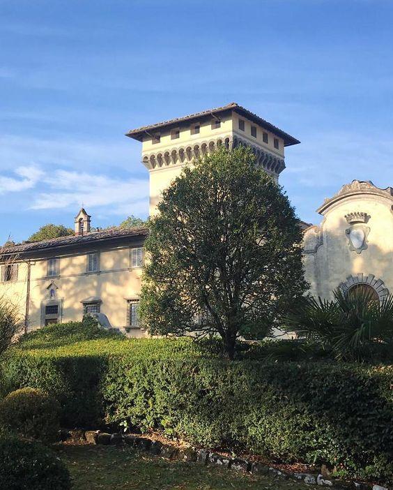Villa Medicea Di Lilliano Tuscany Wedding Villa