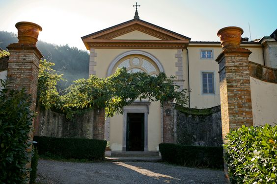 Villa Michaela Tuscany Wedding Chapel