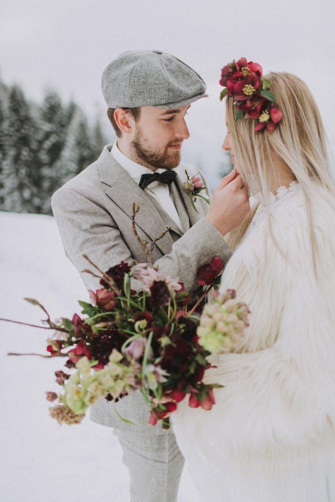winter wedding inspiration austria