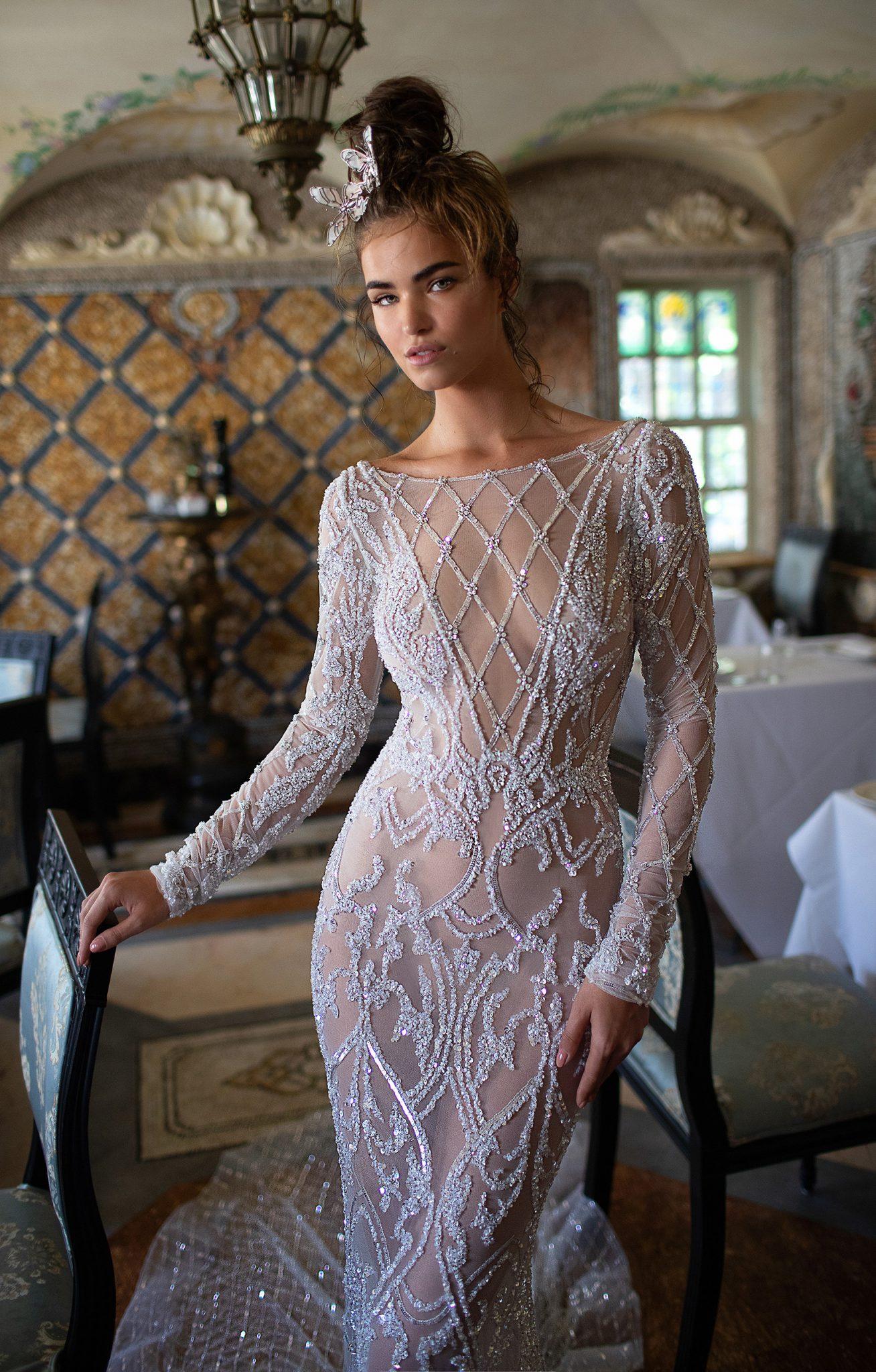 romantic wedding trends 2019 birdal dress kleid
