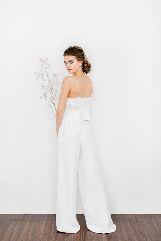 wedding dress, bridal dress, wedding trends, wedding trend 2019, alternative wedding dress, wedding jumpsuit