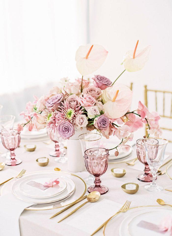 wedding trends 2019 rosa trend hochzeitsfarben