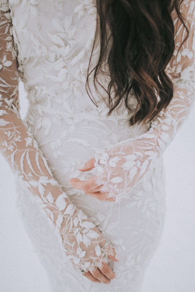 Magnolias On Silk Austria Winter Wedding Dress Lana Mueller