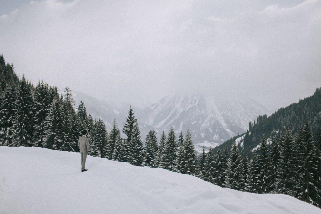 Magnolias On Silk Austria Winter Wedding Mountains 2
