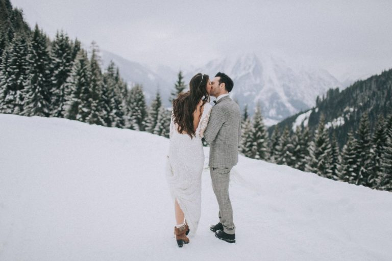 Magnolias On Silk Austria Winter Wedding Mountains 3