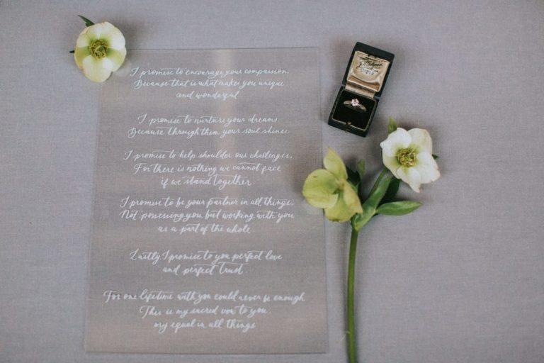Magnolias On Silk Austria Winter Wedding Stationary