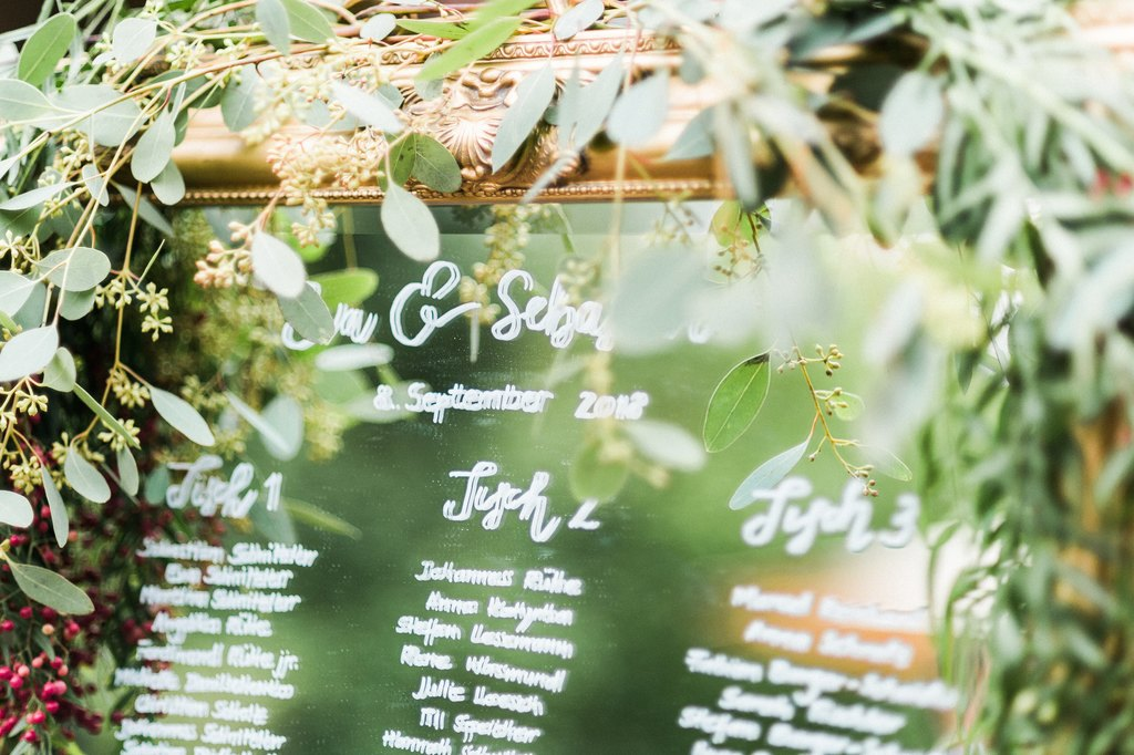 wedding seating chart, wedding details