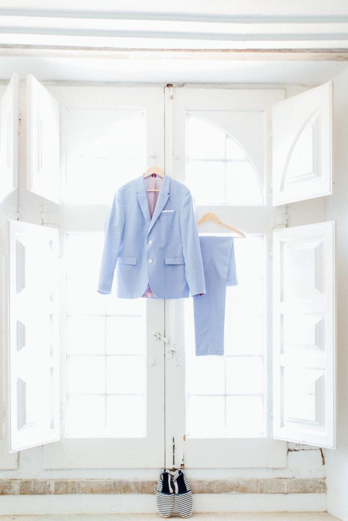 groom suit, blue wedding suit, elopement, destination wedding