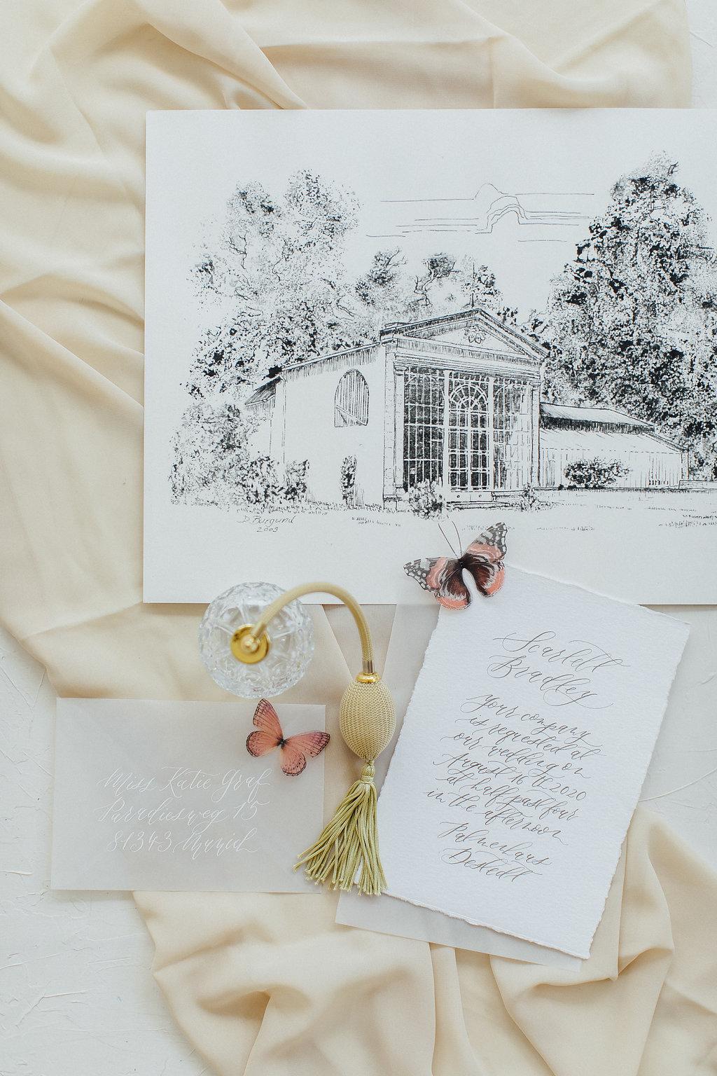 wedding details, wedding getting ready
