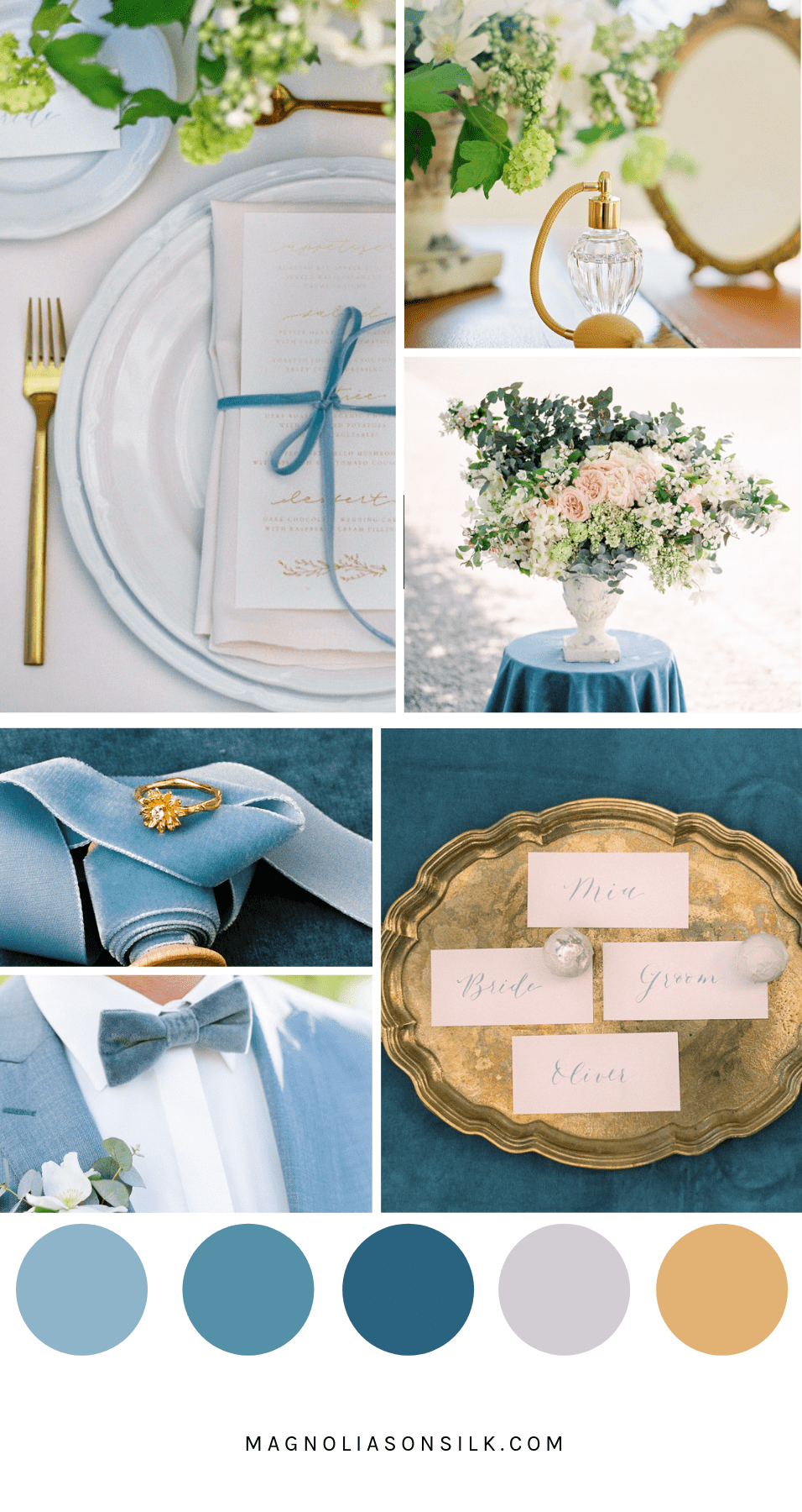 french blue wedding color, summer wedding color palettes, summer wedding color scheme