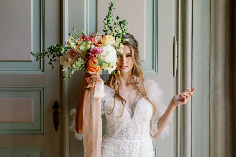 bridal bouquet, wedding flowers, wedding bouquet