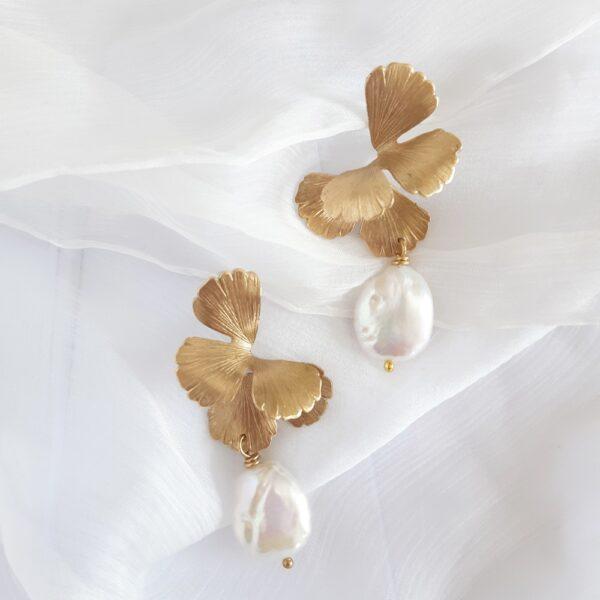 maison-sabben-bridal-earring-gold-minimal-univers-pearl-1